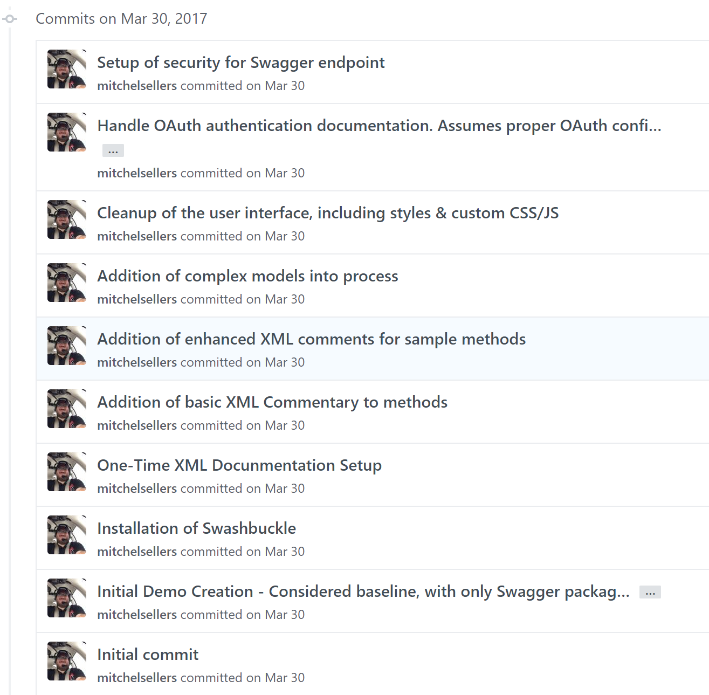 GitHub History